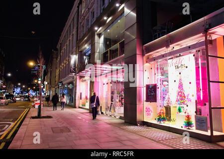 Paperchase shop on Tottenham Court Road, London, England, UK - Stock Image