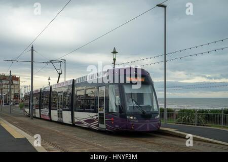 Blackpool Tram -1 - Stock Image