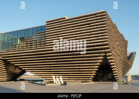 V&A Museum at the Dundee Waterfront, Scotland - Stock Image
