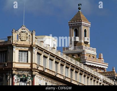 Barcadi Tower, Havanna Vieja, Cuba - Stock Image