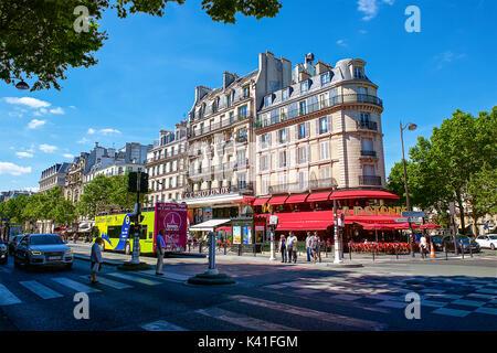 Montparnasse,Paris,France - Stock Image