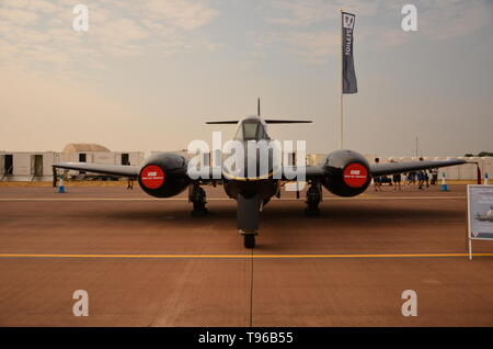 GLOSTER METEOR Mk 7, MARTIN-BAKER test aircraft - Stock Image