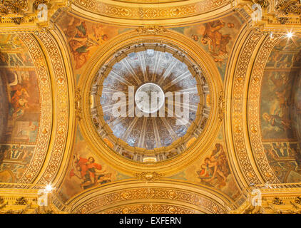 GRANADA, SPAIN - MAY 29, 2015: The in Basilica San Juan de Dios by Diego Sanchez Sarabia from second part of 18. - Stock Image