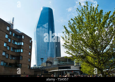 One Blackfriars an iconic high rise building known as The Vase in London. - Stock Image