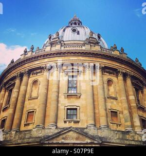 Radcliffe camera. Oxford university building, England. - Stock Image