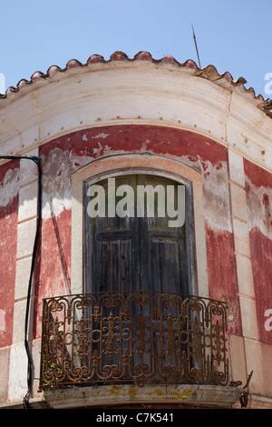 Portugal, Algarve, Pademe, Colourful Architecture - Stock Image