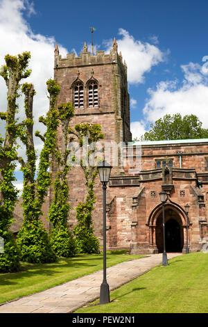 UK, Cumbria, Eden Valley, Kirkby Stephen, St Andrew's parish church - Stock Image