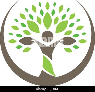 Tree People - Stock Image