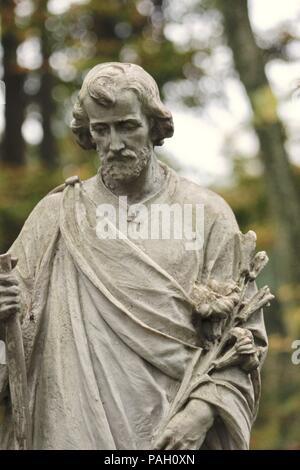 statue of St Joseph - Stock Image