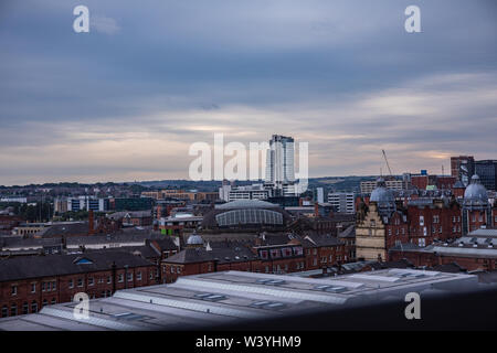 View Of Bridgewater Place - Stock Image