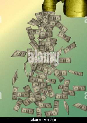 cash flow - Stock Image