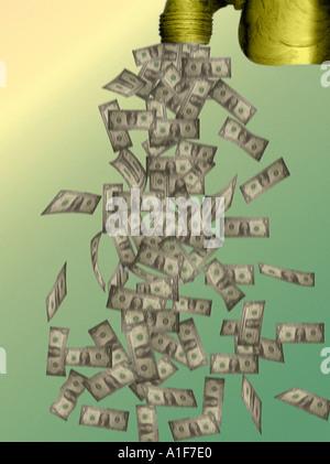 cash flow - Stock Image