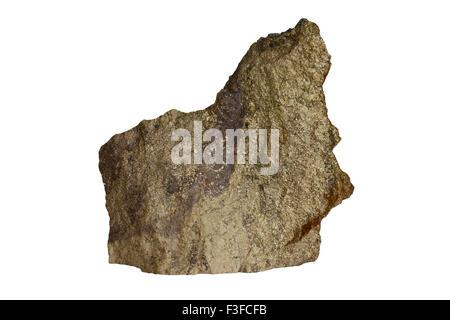 Pyrite ore - Stock Image