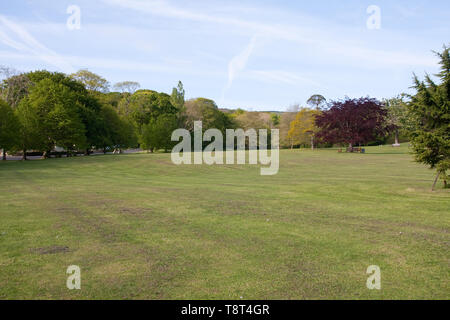Big Mead, Shanklin, Isle of Wight - Stock Image