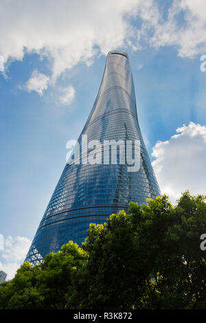Shanghai Tower, the tallest building, Pudong, Shanghai, China - Stock Image