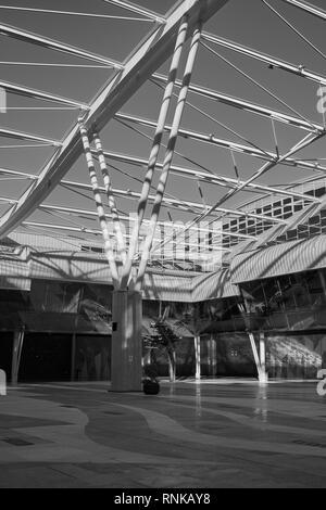 Trade Fair and Congress Center of Malaga (Palacio de ferias y congresos). Spain. - Stock Image
