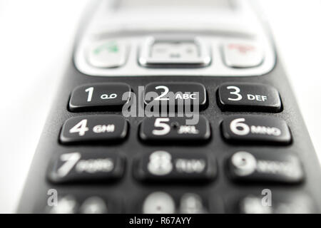 Black Telephone - Stock Image