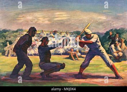 Baseball Game - Stock Image