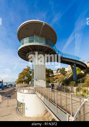 Pier Hill lift, Southend on Sea. - Stock Image