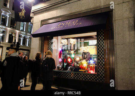Polo Ralph Lauren, London, England, UK - Stock Image