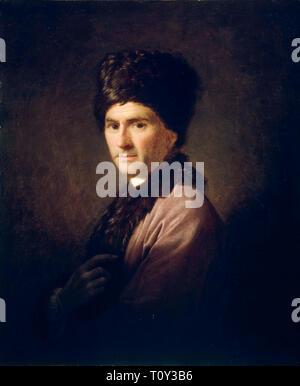 Allan Ramsay, Portrait of Jean-Jacques Rousseau (1712 - 1778), 1766 - Stock Image