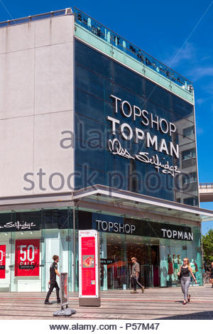 Topshop store, UK. - Stock Image