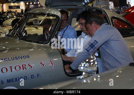 Brescia, Italy. 17th, May 2017. Toto Wolff (Right), team principal of Mercedes AMG F1 will be driving a MERCEDES-BENZ 300 SL W 194 PROTOTYPE 1952, tog - Stock Image