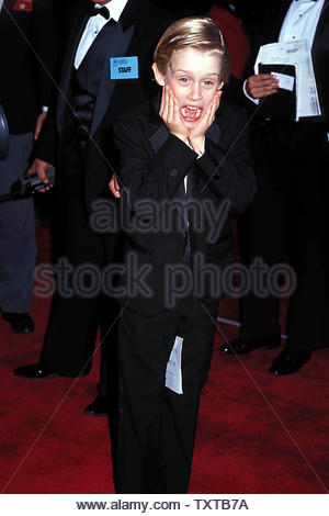 Macaulay Culkin 1991 Credit: 1766708Globe Photos/MediaPunch - Stock Image