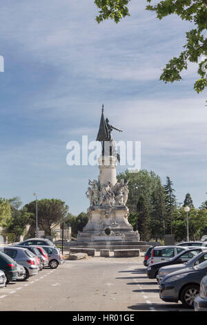 Monument du Centenaire in Avignon Provence France - Stock Image