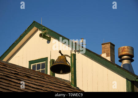 Rooftops at the Amish Farm and House, Lancaster County, Pennsylvania, USA - Stock Image