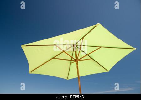 Beach Umbrella, Studland Beach, Dorset - Stock Image
