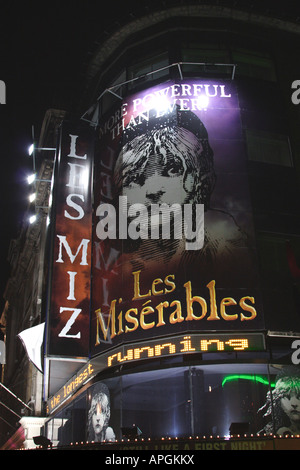 Les Miserables at the west end London January 2008 - Stock Image