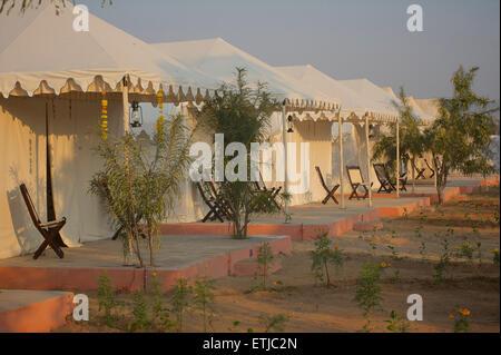 Royal Heritage Camp, Pushkar, Rajasthan, India - Stock Image