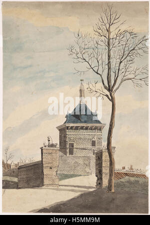 Friese Poort 1809 253 - Stock Image