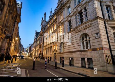 Temple Avenue, City of London, London, England, UK - Stock Image