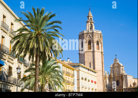 Miguelete Bell Tower, Valencia, Spain - Stock Image