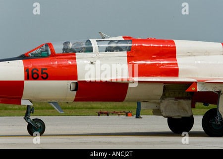 Croatian Air Force MiG-21 UMD tw-seater trainer aircraft - Stock Image