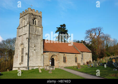 St Nicholas Church, Beaudesert, Henley-in-Arden - Stock Image
