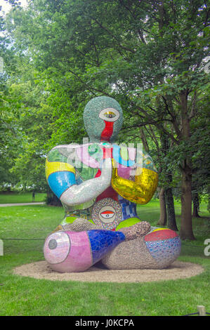 Ruth O'Leary Textile Art Yorkshire Sculpture Park, Wakefield (YSP) - Stock Image