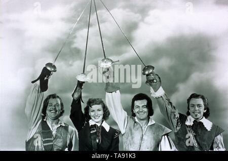 AT SWORD'S POINT (1952)  ALAN HALE JR  MAUREEN O'HARA  CORNEL WILDE  DAN O'HERLIHY  LEWIS ALLAN (DIR)  MOVIESTORE COLLECTION LTD - Stock Image