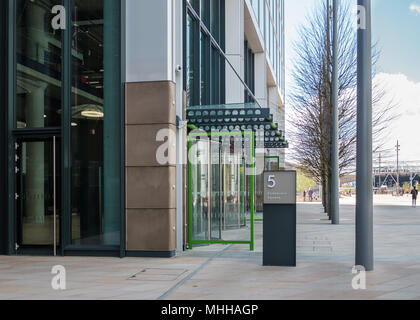 5 Endeavour Square, new headquarters of Transport for London, Olympic Park, East London - Stock Image