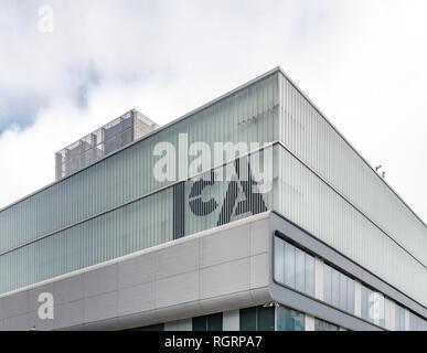 The Institute of Contemporary Art (ICA) art gallery in Boston Massachusetts - Stock Image