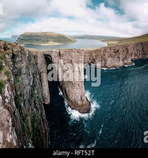 Faroe Islands, landscape. Wild europe - Stock Image