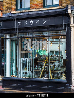Edwin Store Shoreditch London at 123 Bethnal Green Road East London - Stock Image