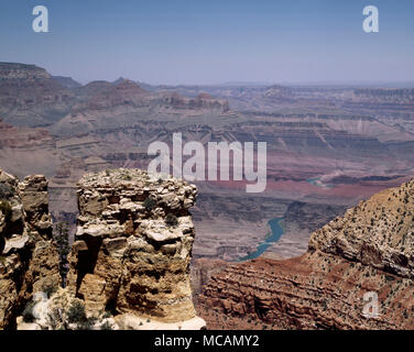 Grand Canyon river view, Arizona - Stock Image