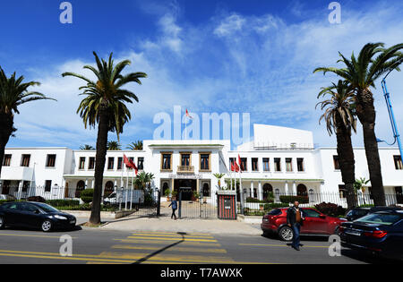 The Casablanca Urban Agency building on Boulevard Rachidi in Casablanca. - Stock Image