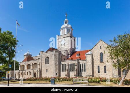 England,Hampshire,Portsmouth,Portsmouth Cathedral - Stock Image