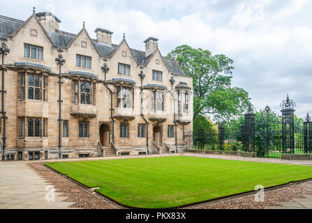Merton College, Oxford - Stock Image