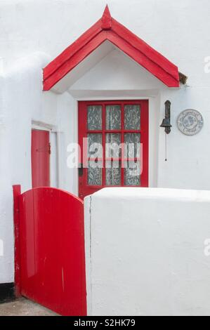 Red and white - Stock Image