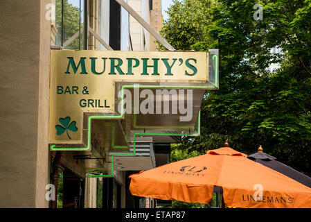 Murphy's Bar and Grill - Salt Lake City, Utah. Irish Pub. - Stock Image